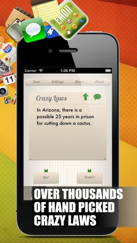 Crazy Laws+