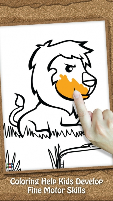 Paint Play For Kids Animal Kingdom Doodle Drawing And Coloring Pages