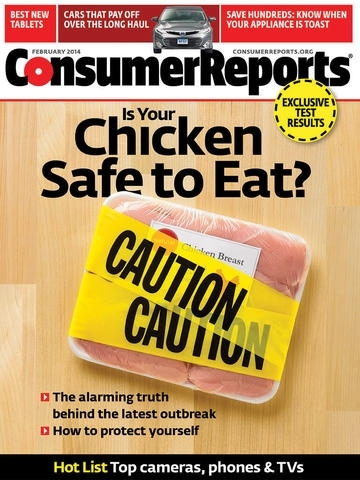 Consumer Reports Magazine iPad Edition