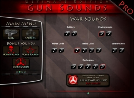 100+ Gun Sounds Guide - Ultimate Pack
