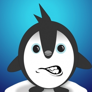 Angry Penguin.