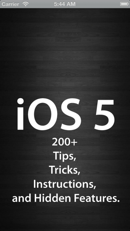 200+ for iOS 5