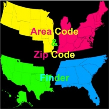 Zip/Area Code Finder
