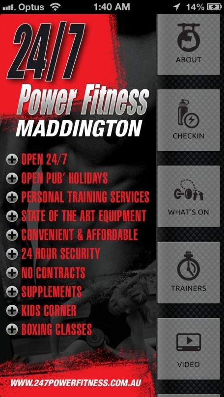 24/7 Power Fitness Maddington