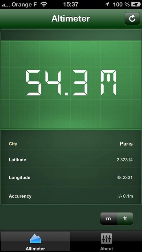 Altimeter : Accurate GPS - HD