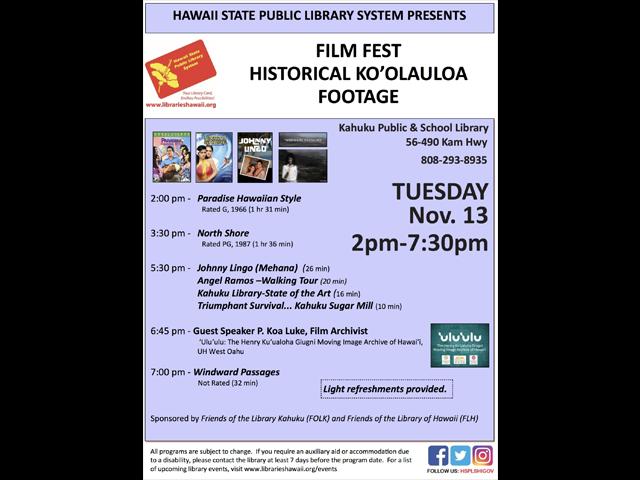 Koʻolauloa Film Festival