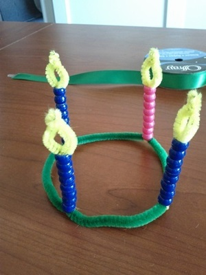 How to make an advent wreath projects for small children older kids