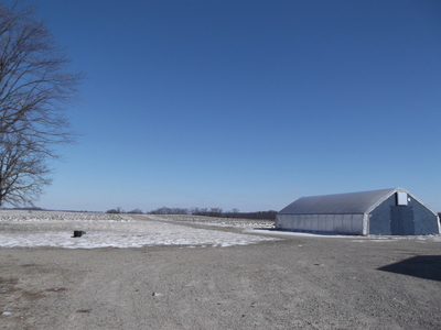 procter farm in snow