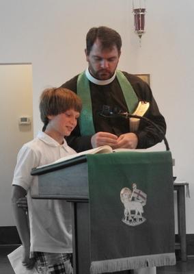 Fr. Robert & Trenton Thenulius