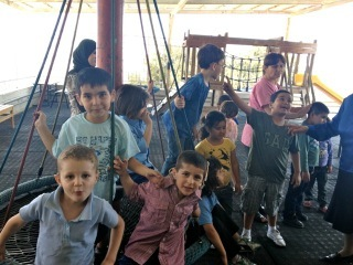 Children at Princess Basma center