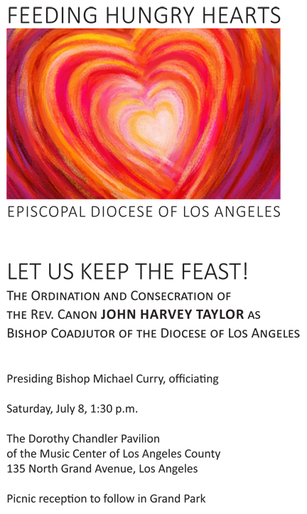 Installation of John Taylor , Bishop Coadjutor @ Dorothy Chandler Pavillion