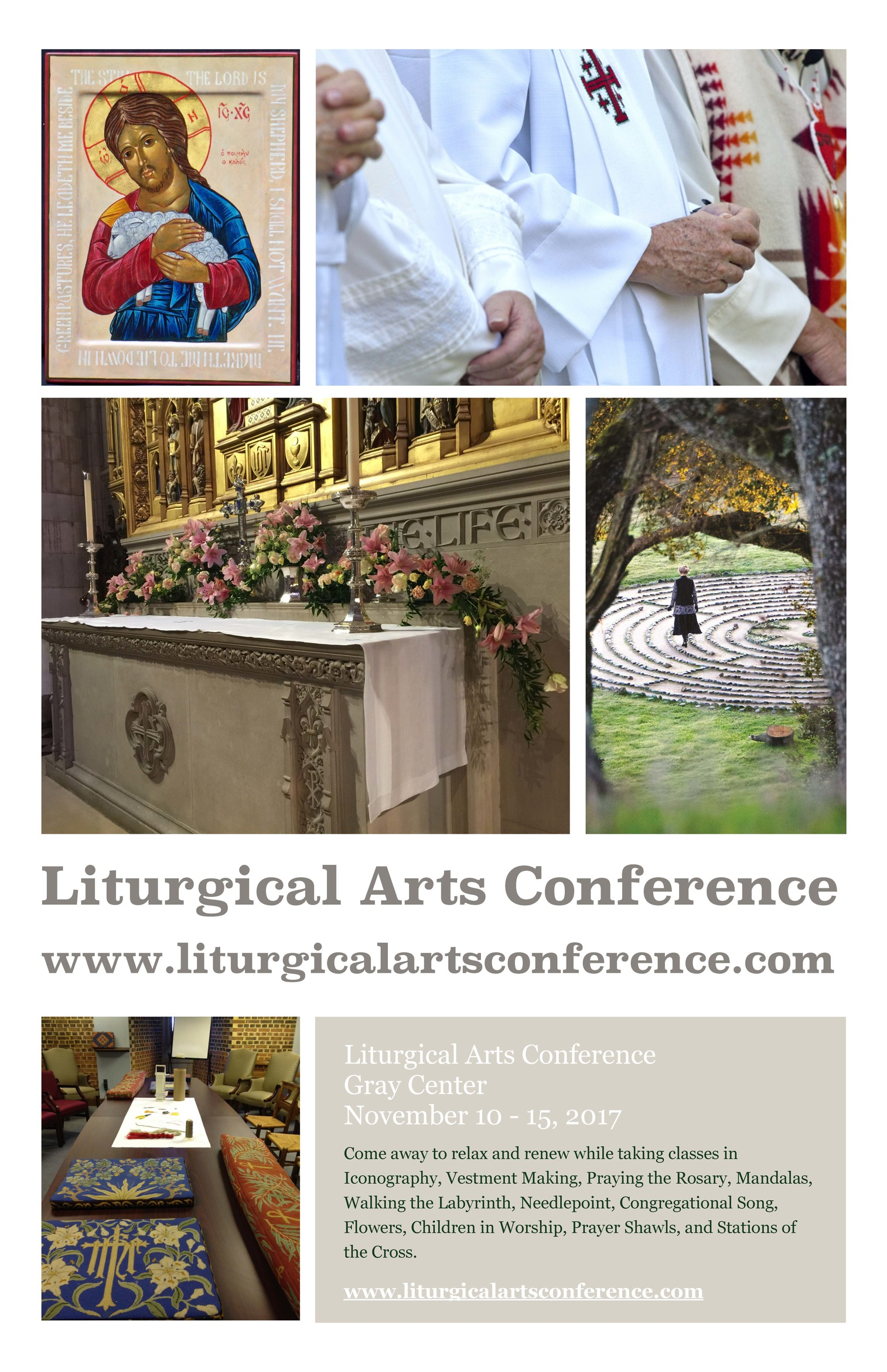 Get Directions The Gray Center 1530 Way Road Canton MS 39046 2017 Liturgical Arts Poster