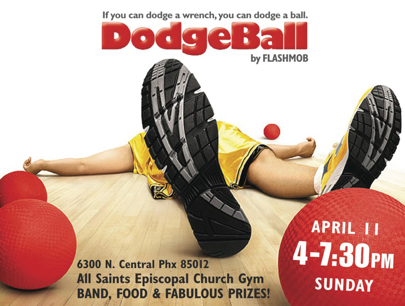 Dodgeball Tournament Poster DodgeballDodgeball Tournament Poster