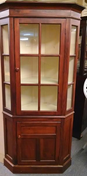 Habersham pine corner cabinet delmarva furniture for Habersham cabinets cost