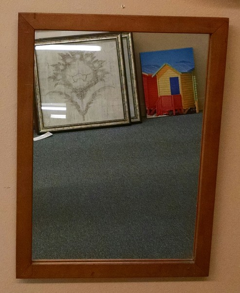 18 x 24 maple mirror delmarva furniture consignment more for Mirror 18 x 24