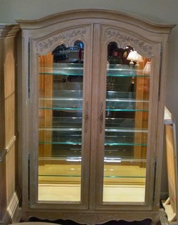 CENTURY FRENCH CHINA CABINET