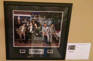 THE SOPRANOS- AUTOGRAPHED