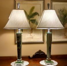 PR MIRRORED LAMPS