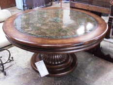 PEDASTAL COFFEE TABLE ROUND