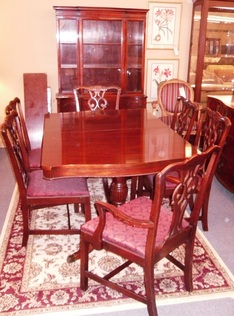 1945 CENTURY 8 PC DINING SET