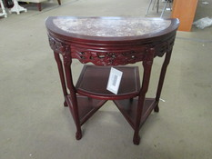 HALF ROUND HALL TABLE