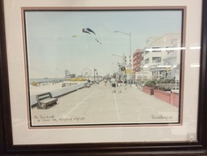 23X19 PRINT OF OCEAN CITY,MD