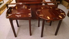 BOMBAY BUTLER END TABLES