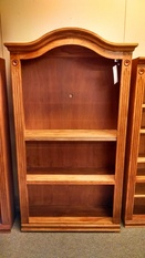 LARGE OAK BOOK CASE