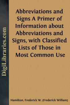 Abbreviations and Signs