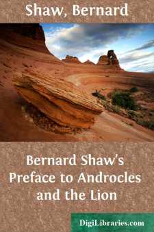 Bernard Shaw's Preface to Androcles and the Lion