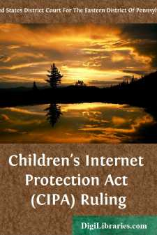 Children's Internet Protection Act (CIPA) Ruling