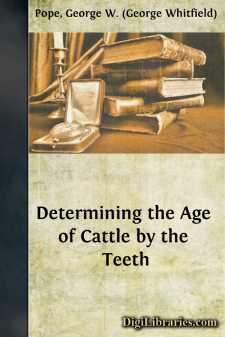 Determining the Age of Cattle by the Teeth
