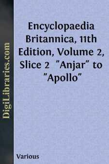 Encyclopaedia Britannica, 11th Edition, Volume 2, Slice 2