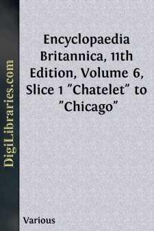 Encyclopaedia Britannica, 11th Edition, Volume 6, Slice 1