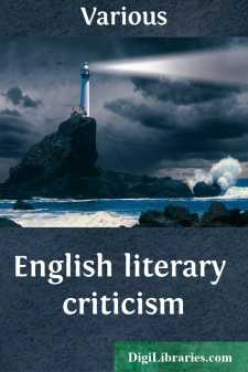 English literary criticism