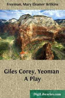 Giles Corey, Yeoman A Play