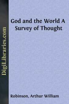 God and the World A Survey of Thought