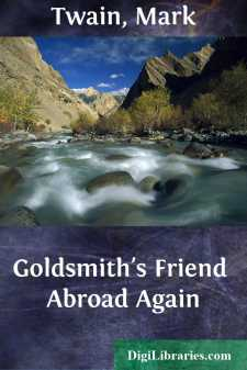 Goldsmith's Friend Abroad Again