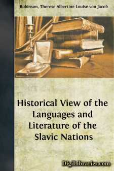 Historical View of the Languages and Literature of the Slavic