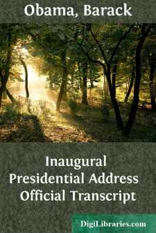 Inaugural Presidential Address  Official Transcript