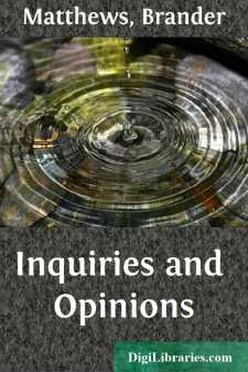 Inquiries and Opinions