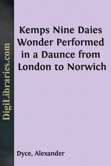 Kemps Nine Daies Wonder