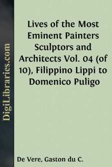 Lives of the Most Eminent Painters Sculptors and Architects