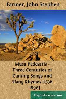 Musa Pedestris - Three Centuries of Canting Songs and Slang Rhymes [1536 - 1896]