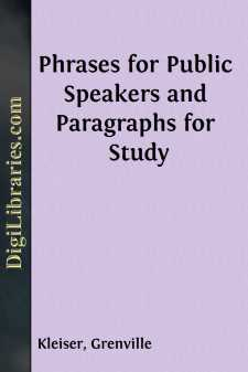 Phrases for Public Speakers and Paragraphs for Study