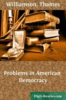 Problems in American Democracy