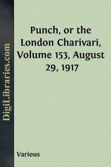 Punch, or the London Charivari, Volume 153, August 29, 1917