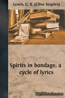 Spirits in bondage; a cycle of lyrics