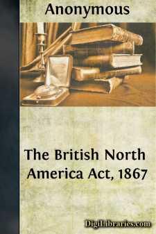 The British North America Act, 1867