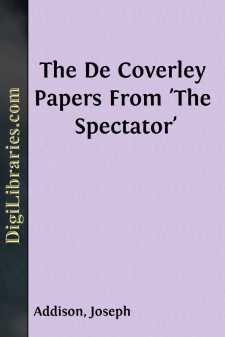 The De Coverley Papers From 'The Spectator'